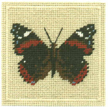 Small Tapestry Kit - Red Admiral Butterfly