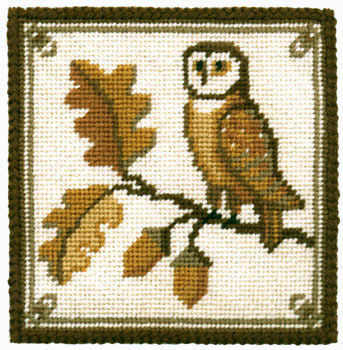Parham Owl Small Tapestry Kit