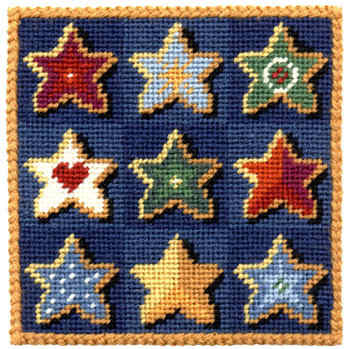 Small Tapestry Kit - Stars