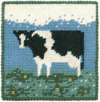 Small Tapestry Kit - Cow