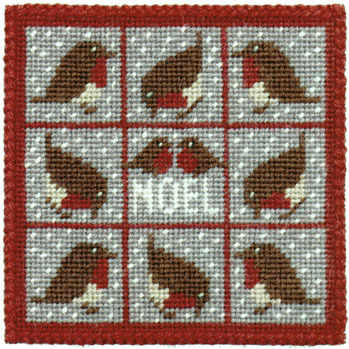 Small Tapestry Kit - Red Robins