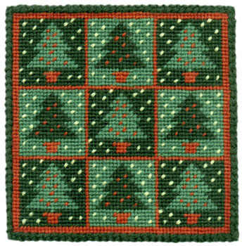 Small Tapestry Kit - Christmas Trees