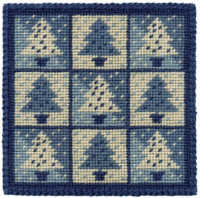Small Tapestry Kit - Winter Trees