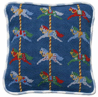 Carousel Tapestry Kit (Plain Canvas)