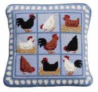 Blue Hens Tapestry Kit