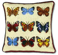 Butterfly Collection Tapestry kit (Plain Canvas)