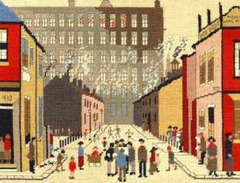 Street Scene Tapestry Kit (Lowry) - Bothy Threads