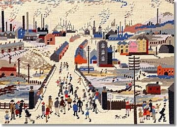 The Canal Bridge Tapestry Kit (Lowry)