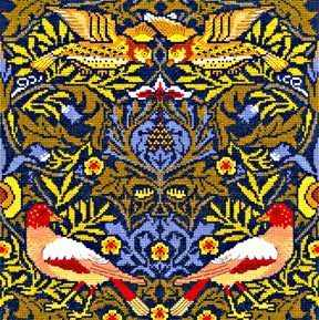 The Bird  (William Morris)  Cross Stitch