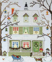 Winter New England Homes - Bothy Threads