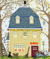 Fall New England Homes - Bothy Threads