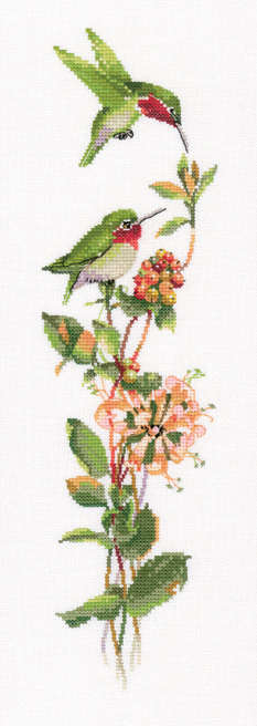 Toccata in Green - Valerie Pfeiffer Duets Cross Stitch