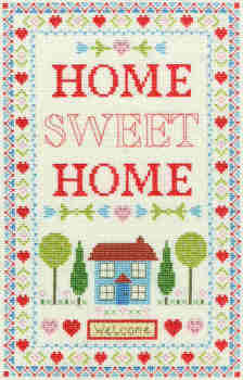 Home Sampler - Bothy Threads Cross Stitch