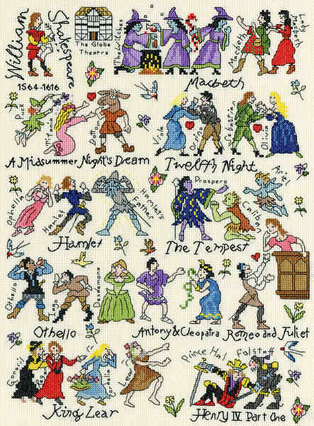 Shakespeare Sampler -  Bothy Threads