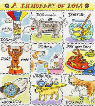 A Dictionary of  Dogs - Bothy Threads