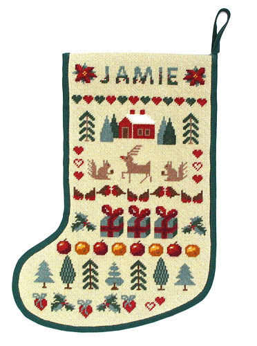 Sampler - Christmas Stocking