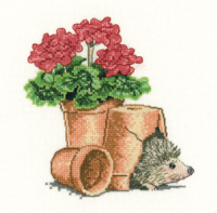 Safe Haven Hedgehog Cross Stitch