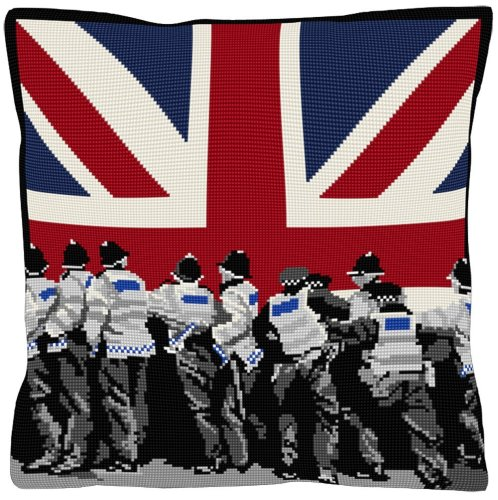 Crowd Control - Union Jack Tapestry Kit