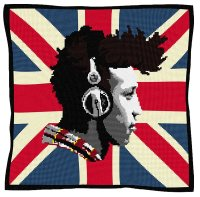 Urban Music  - Union Jack Tapestry Kit
