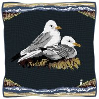 Seaside Kittiwakes - Bird Tapestry Kit