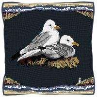 Seaside Kittiwakes - Bird Tapestry Kit