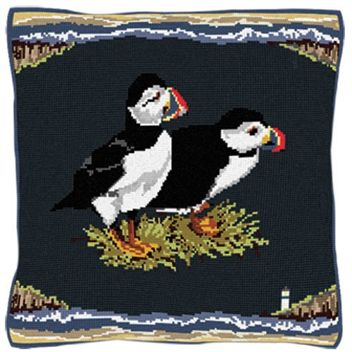 Puffins - Bird Tapestry Kit