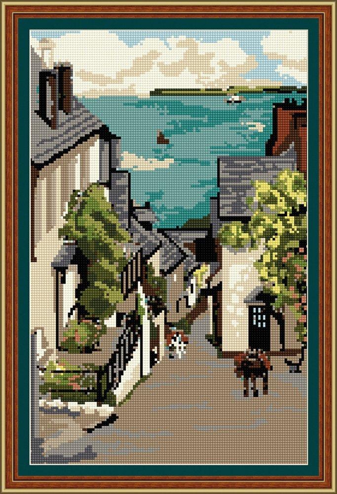 Clovelly Bay - Brigantia Needlework Tapestry Kit