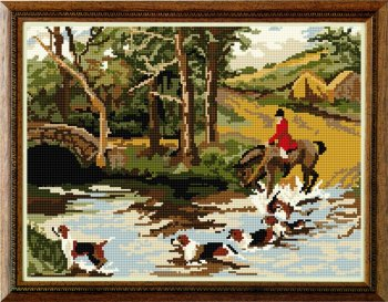Huntsman Tapestry Kit - Brigantia Needlework