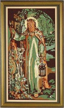 Light of the World - Religious Tapestry Kit