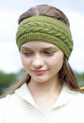 Alpaca head band