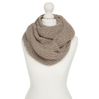 Alpaca circular scarf