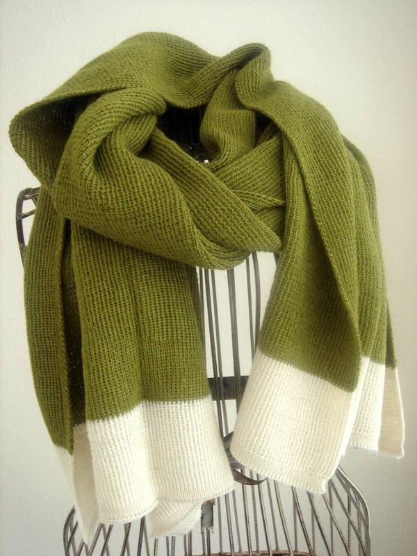pistachio green shawl