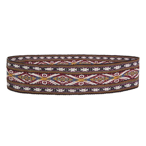 Hand woven belts
