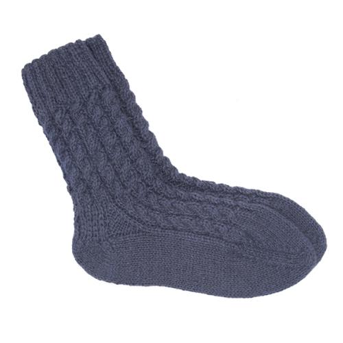 Pure alpaca socks